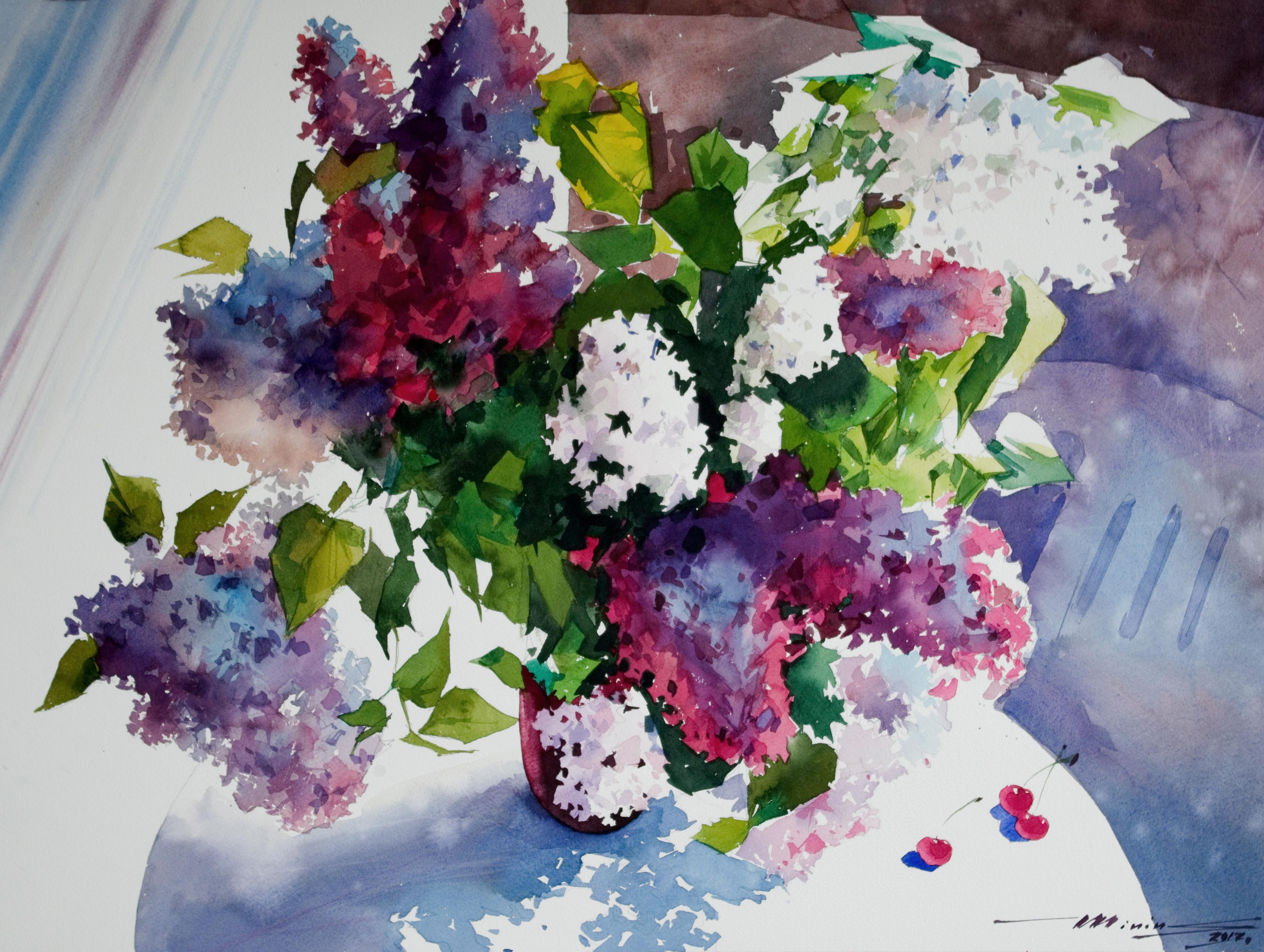 Lilac by Sergei Minin in Lady Ju Gallery