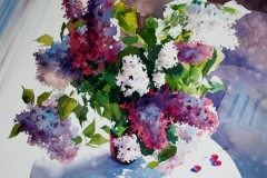 Lilac by Sergei Minin in Lady Ju Gallery