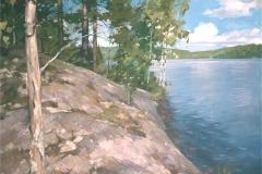 Ранталинна. Финляндия. Панель Масло.85х89см