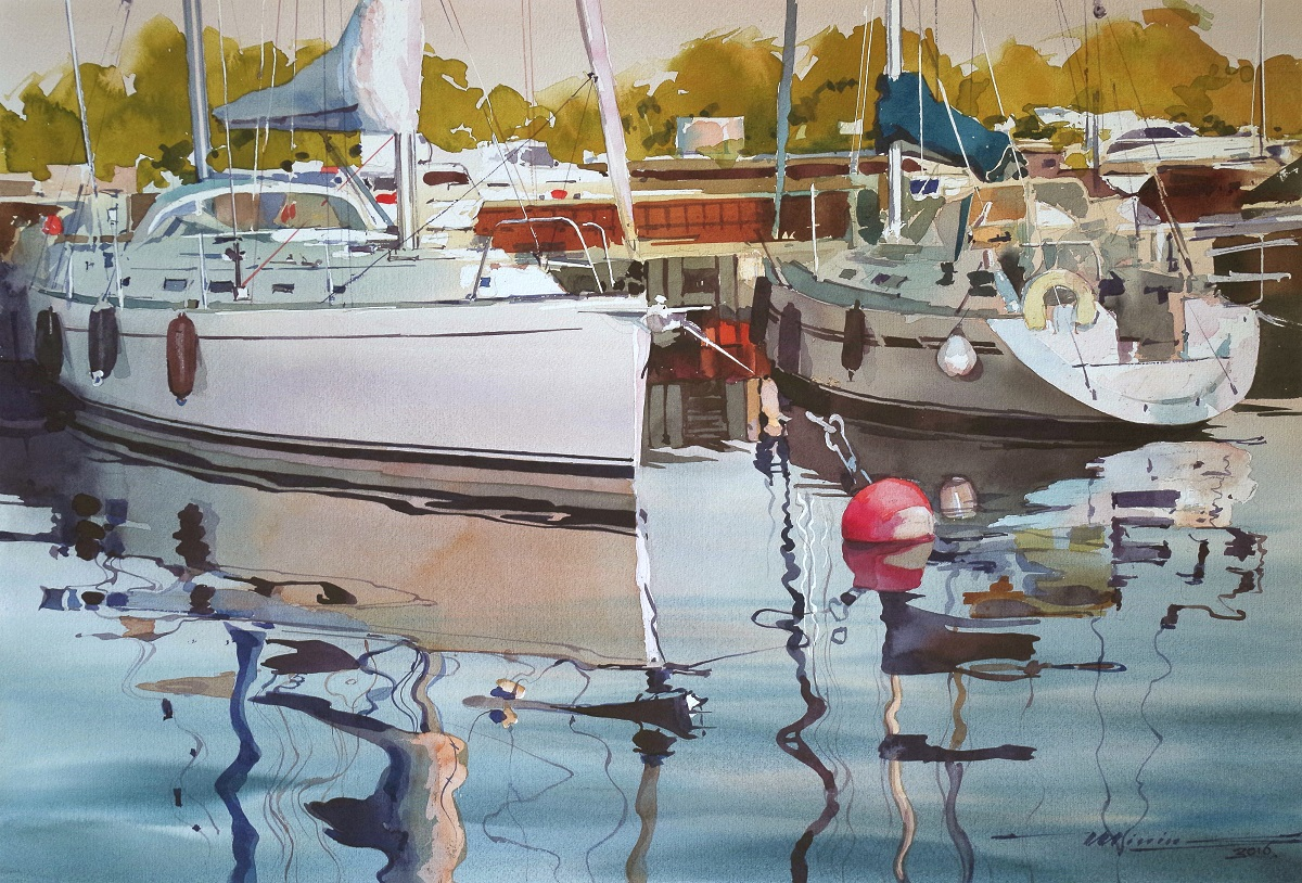 yacht by sergei minin 1200 x 814